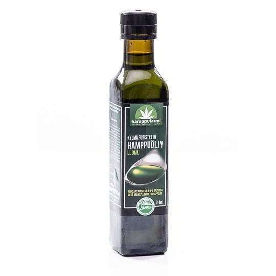 Nordic Hempfarm Organic Cold Pressed Hemp Oil
