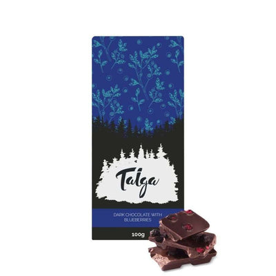 Taiga's Dark Chocolate With Wild Bilberries