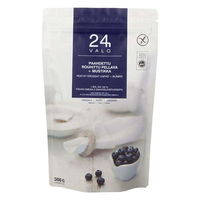 Valo24h Roasted Ground Flaxseed + Wild Blueberry