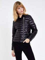 Black Casual Padded Jacket