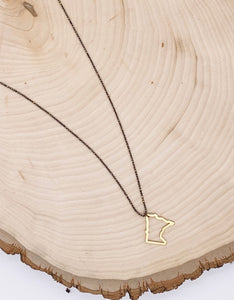 B&B 32nd OUTLINE NECKLACE