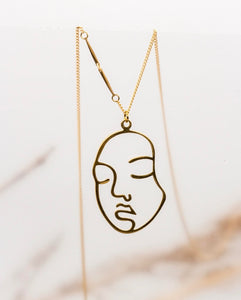 B&B FACE THE DAY NECKLACE