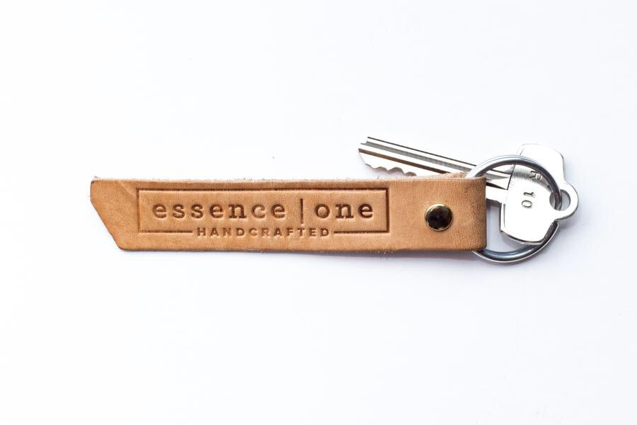 Aromatherapy Leather Key Chain