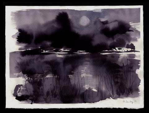 Dark Pond Landscape
