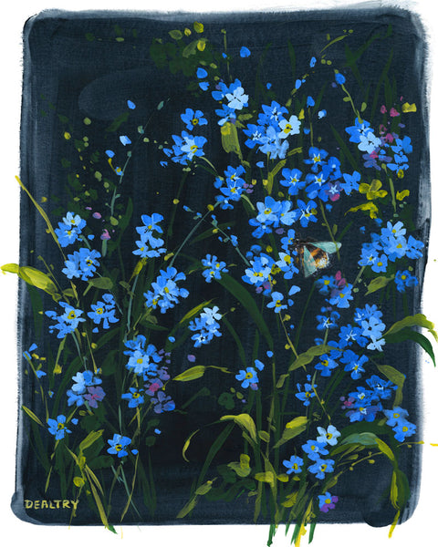 Forget-me-not 1 - Giclee Print