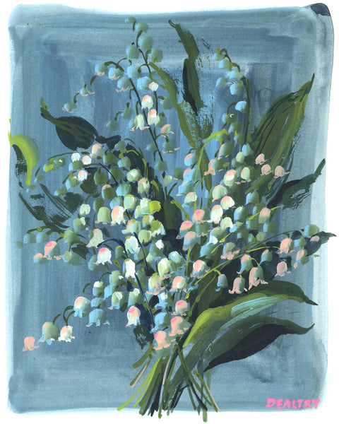 Lily of the valley 1 - Giclee Print