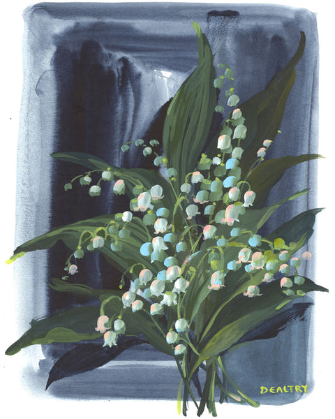Lily of the valley 2 - Giclee Print