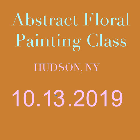 Hudson Painting Class October 13 2019