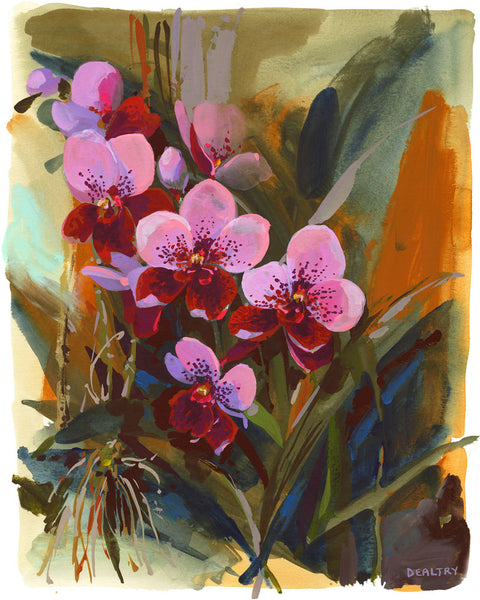 Orchid 2 - Giclee Print