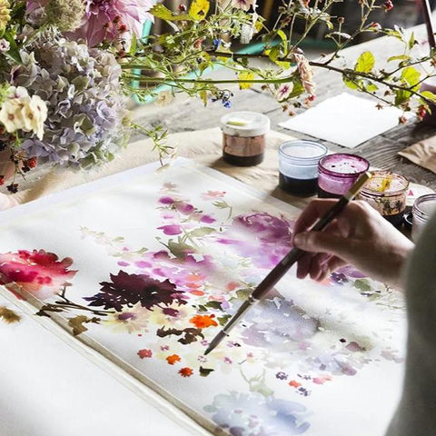 Floral Painting Workshop - Saturday 4/18