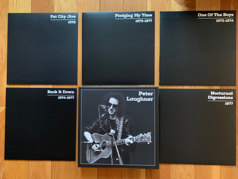 Peter Laughner box set 5 CDs plus book