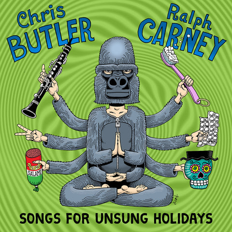 "Chris Butler & Ralph Carney ""Songs For Unsung Holidays"" LP"