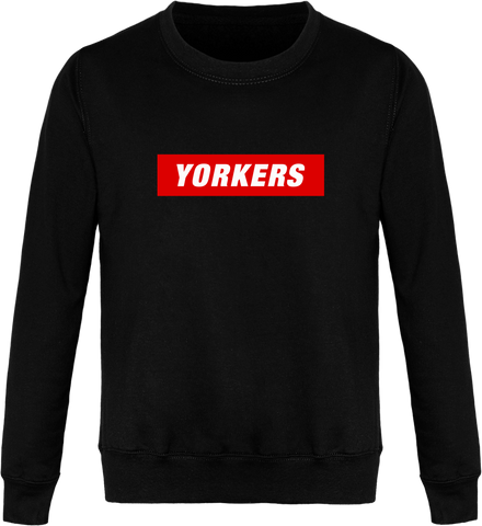 Sweat YORKERS Col Rond