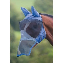 Deluxe Fly Mask With Ears & Nose