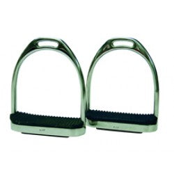 ProTack Flexi Stirrup Irons Complete with Treads