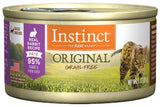 Nature's Variety Instinct Grain-Free Rabbit Formula Canned Cat Food