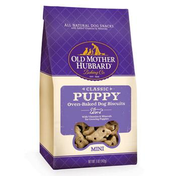 Old Mother Hubbard Mother's Solutions Crunchy Natural Mini Dog Biscuits Puppy Dog Treats