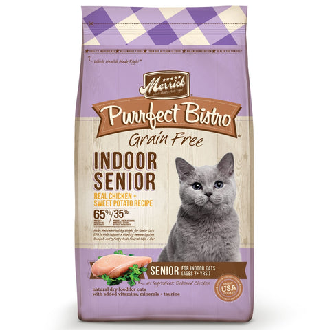 Merrick Purrfect Bistro Healthy Senior Grain Free Dry Cat Food