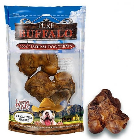 Pure Buffalo Meaty Femur Knuckle Dog Treats