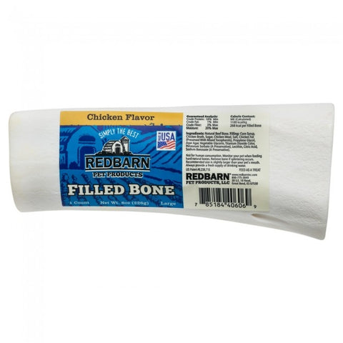 Redbarn Chicken Filled Bone For Dogs
