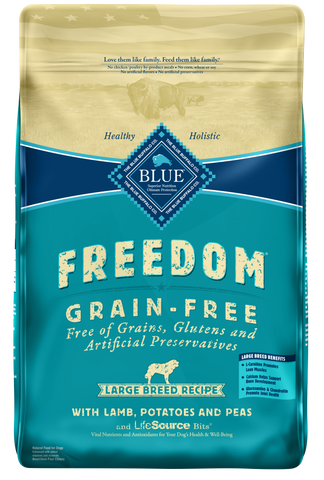 Blue Buffalo Freedom Large Breed Adult Lamb Recipe Dry Dog Food