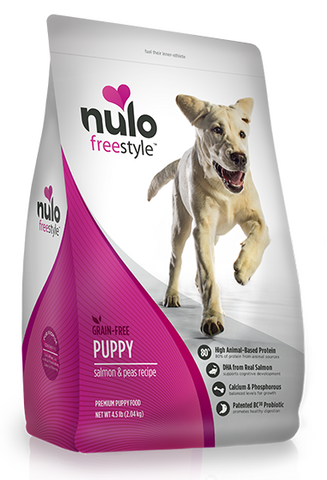 Nulo FreeStyle Grain Free Salmon and Peas Puppy Recipe Dry Dog Food