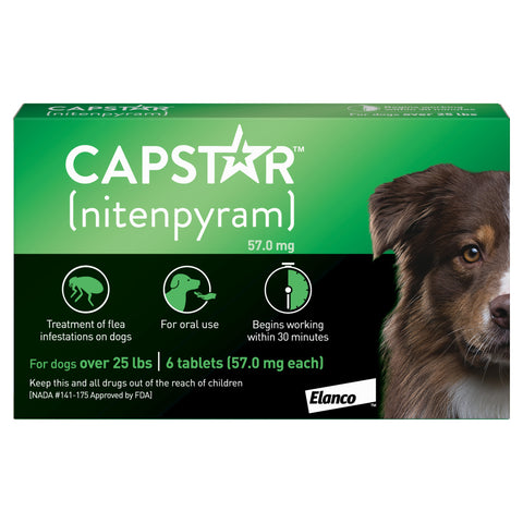 Capstar Flea Treatment for Cats and Dogs