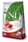 Farmina N&D Natural and Delicious Grain Free Medium Adult Chicken & Pomegranate Dry Dog Food