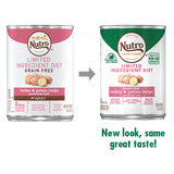Nutro Limited Ingredient Diet Grain Free Turkey & Potato Pate Canned Dog Food