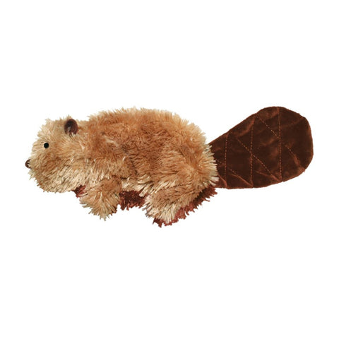 KONG Plush Beaver Dog Toy