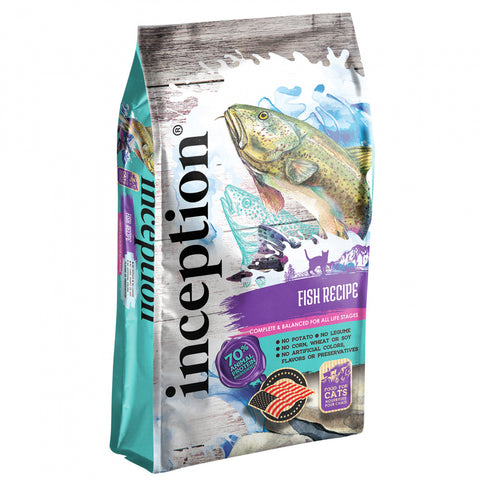Inception Fish Recipe Dry Cat Food