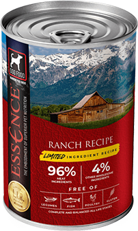 Essence Limited Ingredient Ranch Recipe Canned Dog Food