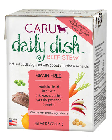 Caru Daily Dish Beef Stew For Dogs