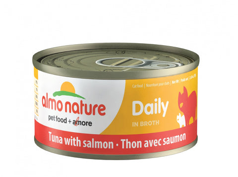 Almo Nature Daily Cat Tuna with Salmon Canned Cat Food