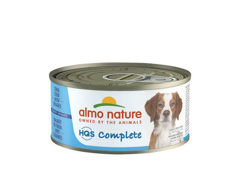 Almo Nature HQS Complete Dog Complete & Balanced Chicken Stew with Veggies Canned Dog Food