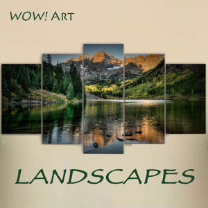 Landscapes in a World of Wall Art