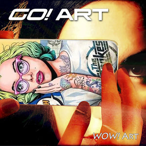 GO! Art Cell phone cover art collection