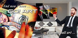 WOW! Art and GO! Art here at Wise Finds Smart Buys