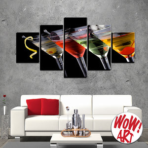 Relax with Martinis on your wall