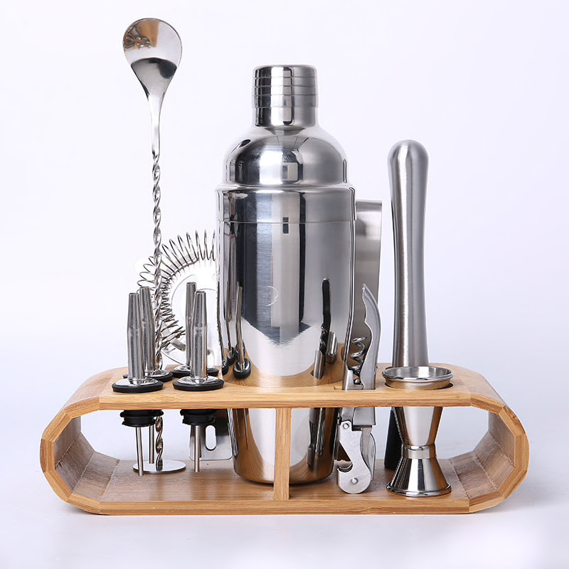 f88beaf24b2c0 12-piece Cocktail Maker Set for The Personal Bartender - Wise Finds ...