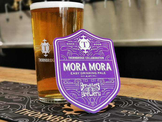 Mora Mora - A collaboration with Brewsters Brewery