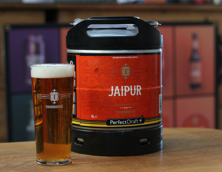Jai-pour the perfect pint with Perfect Draft