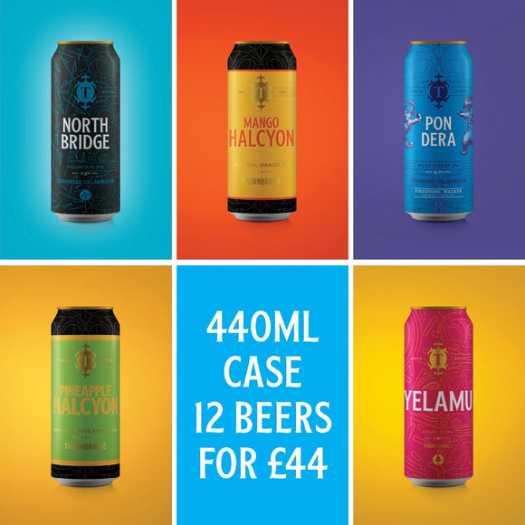 The 440ml Mixed Case 12 x 440 ml cans