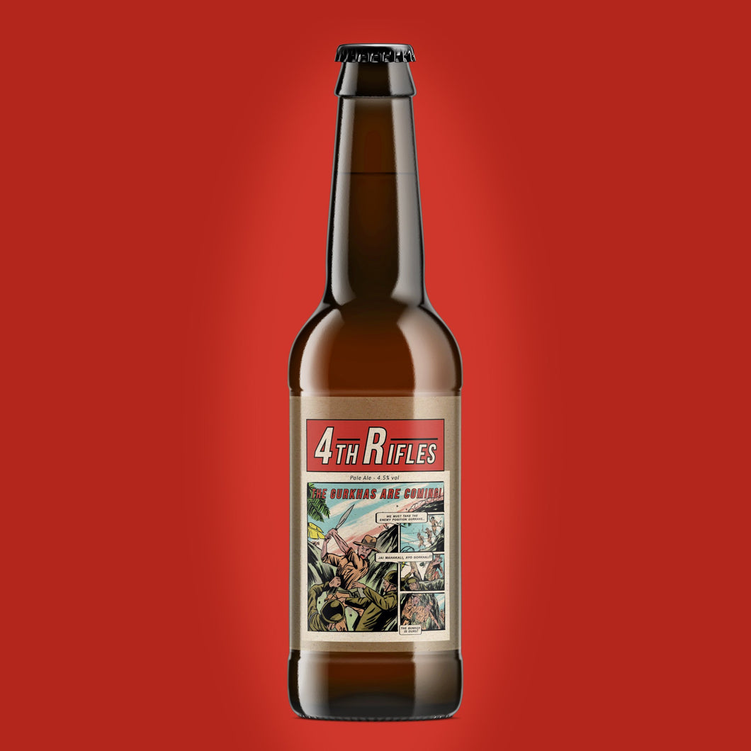 4th Rifles 4.5% Pale Ale