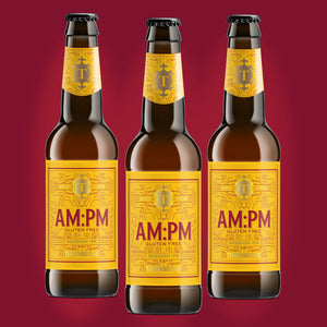 AM:PM, 4.5% Gluten Free Session IPA 12 x 330ml bottles