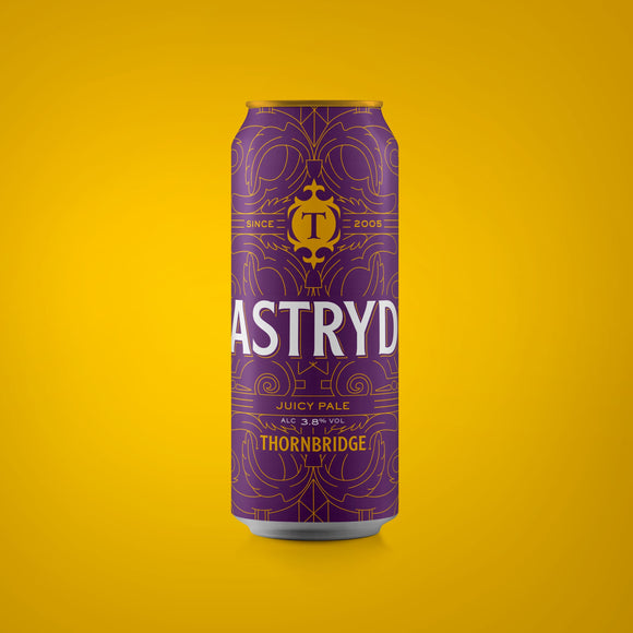 Astryd, Juicy Pale Ale 3.8% ABV 440ml can