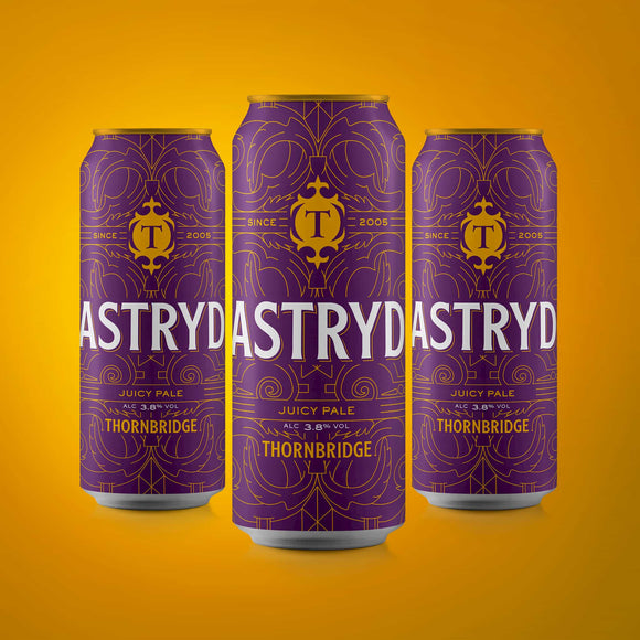 Astryd, Juicy Pale Ale 3.8% ABV 12x440ml cans
