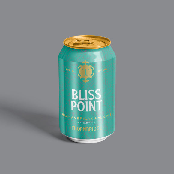 Bliss Point, 5% Hazy American Pale Ale