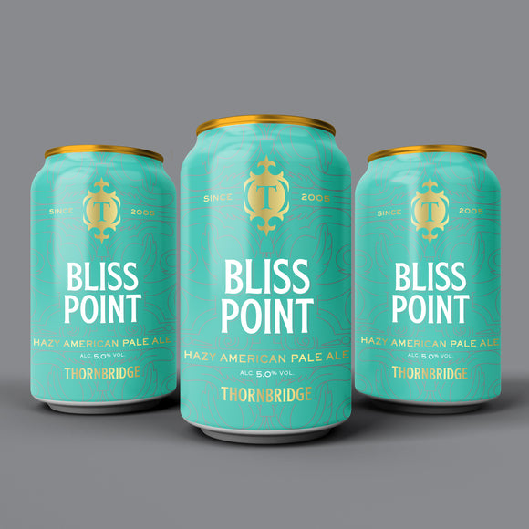 Bliss Point, 5% Hazy American Pale Ale case 12x330ml cans