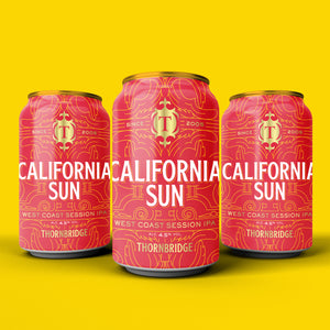 California Sun 4.5% West Coast Session IPA 12x330ml